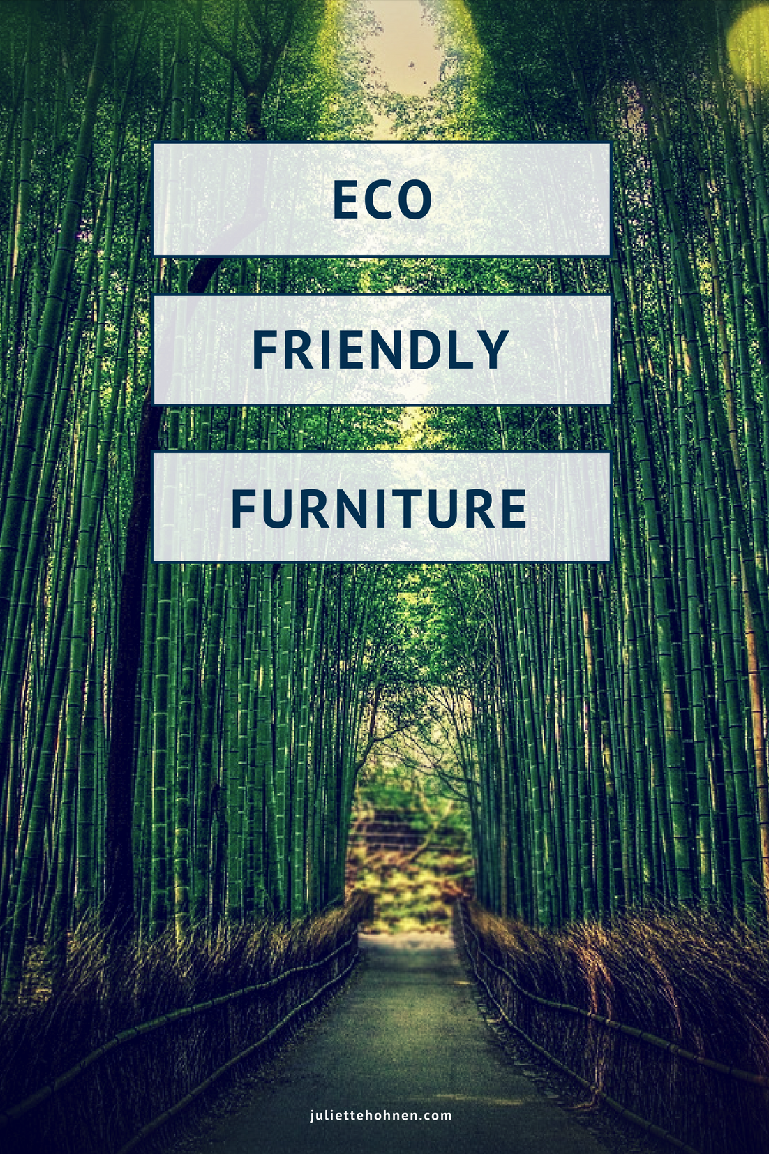 Eco Friendly Furniture - Juliette Hohnen