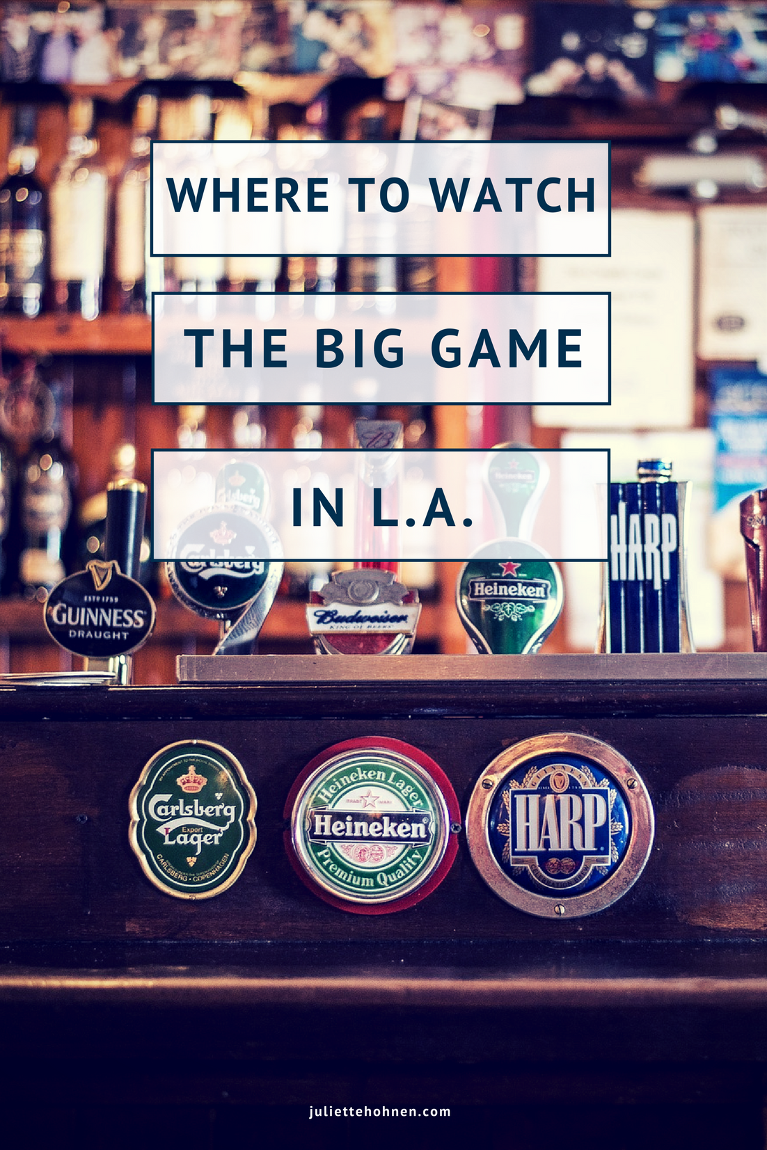 Where to watch the big game in L.A.