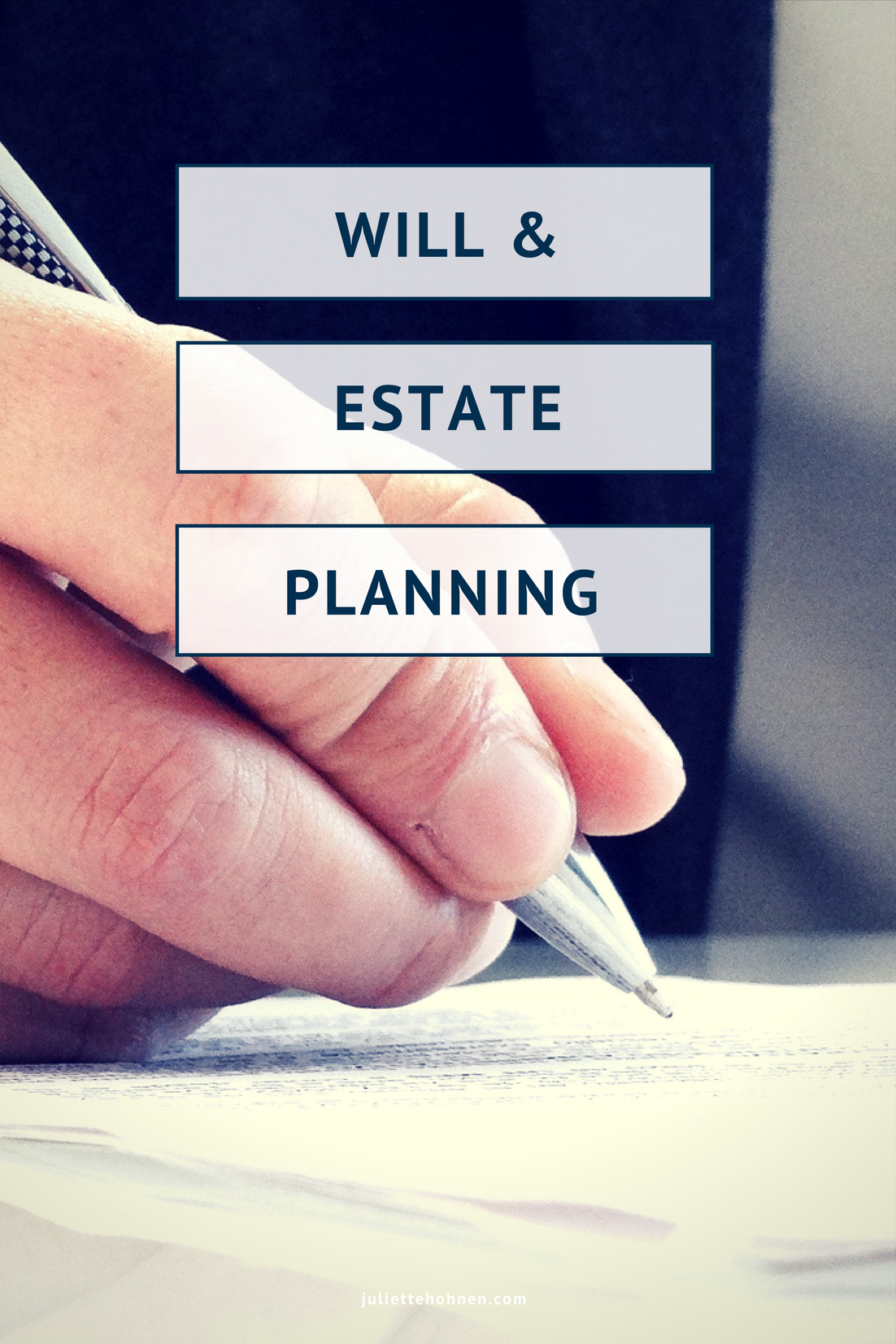 Will & Estate Planning