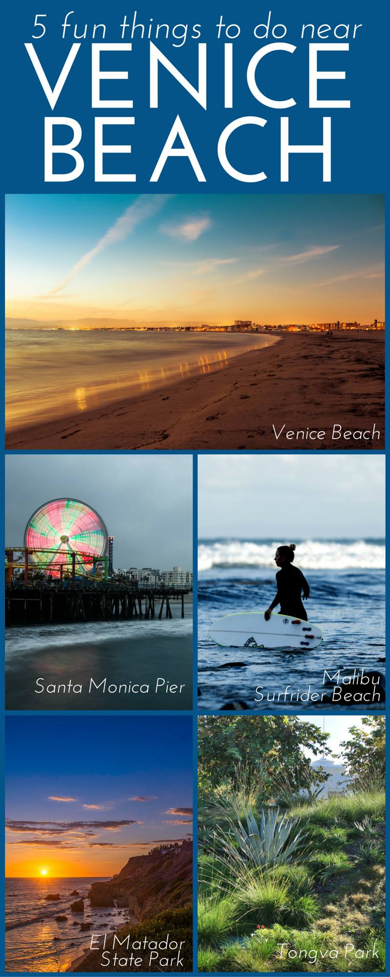 Ideas for things to do on your Venice Beach vacation!